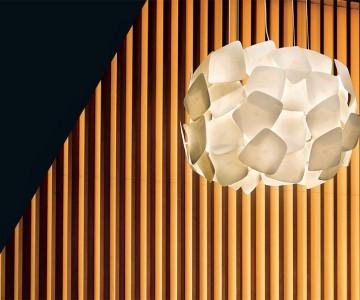 Lámpara BISCUIT / Artesanía y diseño con porcelana