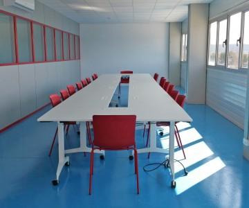 Sala de Formación, Proyecto realizado para Coral Transports & Stocks.
