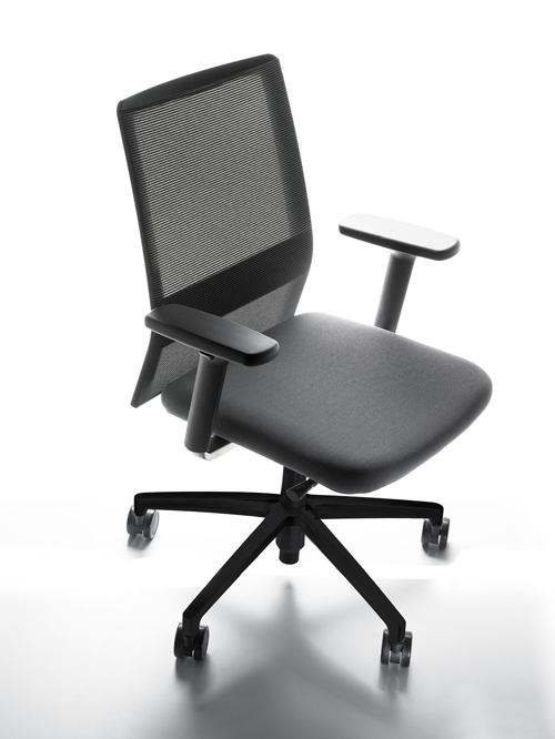 Oficinas stallergenes mobiliario para espacios de trabajo for Silla sentis forma 5