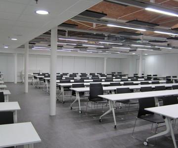 Proyecto UNED DE GIRONA, Mobiliario para Universidades.