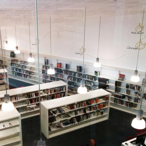 Centre Cultural Infant Pere; Hospitalet de l'Infant, Estanteria para bibliotecas, mesas para bibliotecas, sillas para bibliotecas, iduna, andreu world, magis
