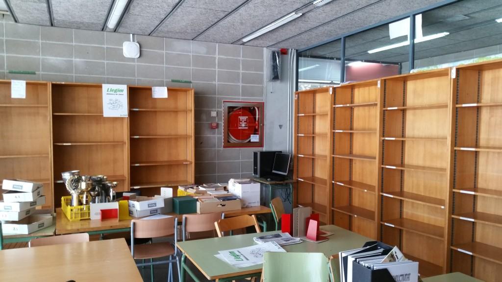 Proyecto de adecuaci n de bibliotecas can peixauet for J g mobiliario