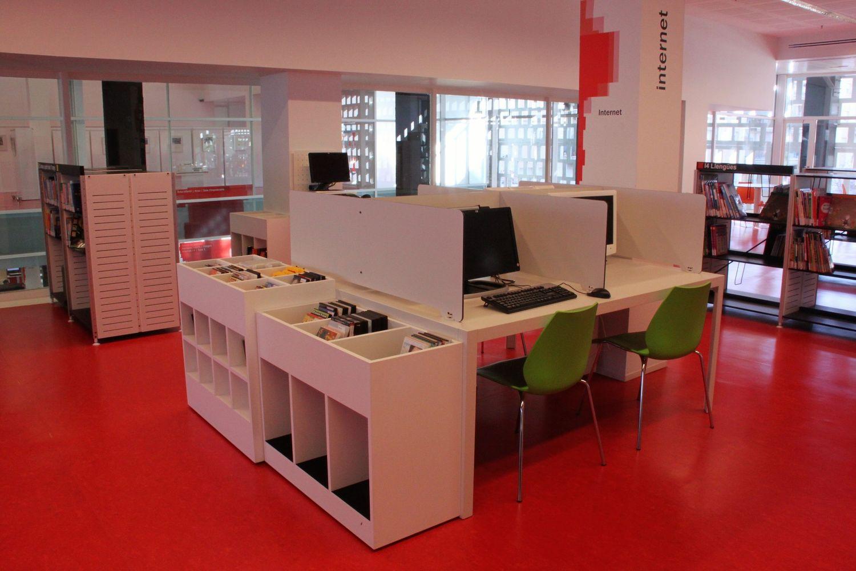 espacios de concentracion para bibliotecas
