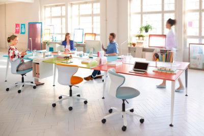 Espacios colaborativos en empresas