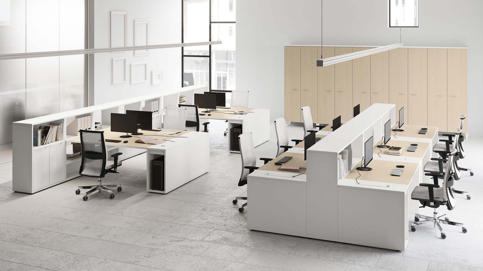 Mobiliario oficina girona for Mobiliario y equipo