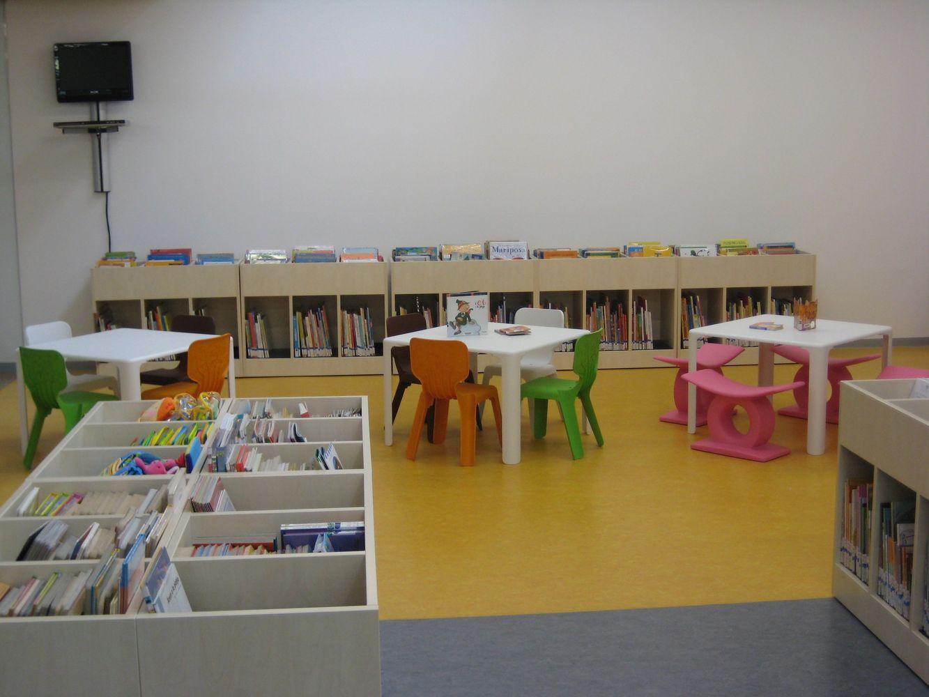 equipamiento zonas infantiles