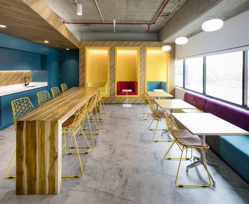 Zonas de descanso en oficinas