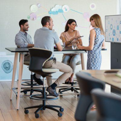 Espacios de oficina para colaborar