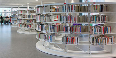 Estanterías bibliotecas