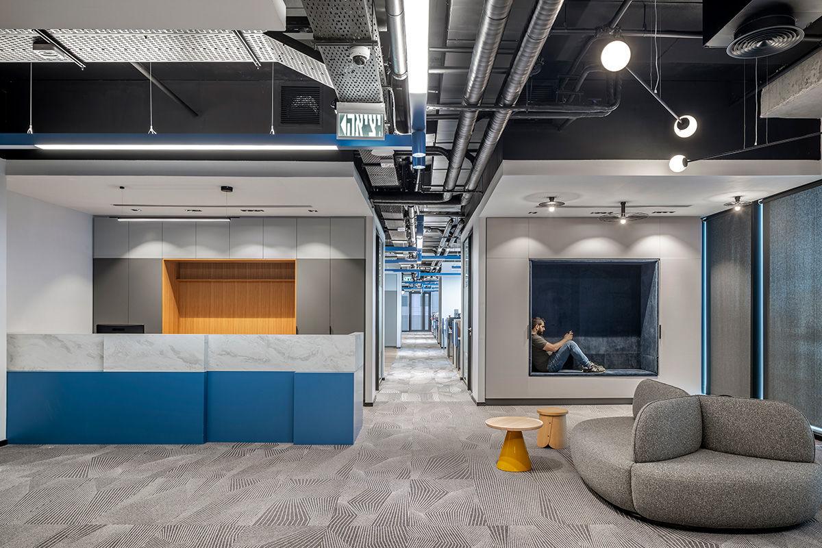 Espacio recepción oficinas