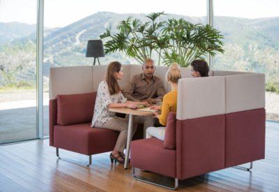 Mobiliario para espacios colaborativos