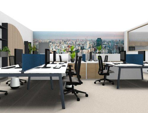 Proyecto de diseño y reforma de oficinas en Barcelona
