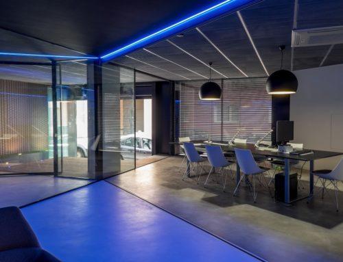 Proyecto oficinas y showroom Domotec