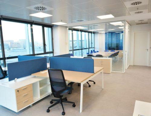 Diseño y reforma de oficinas para ST Microelectronics