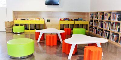 Muebles infantiles para bibliotecas